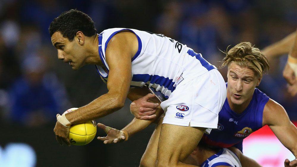 Thomas takes AFL ban, but 'Roos unhappy