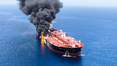 Japan distancing itself from USA claims of Iranian involvement in tanker attacks