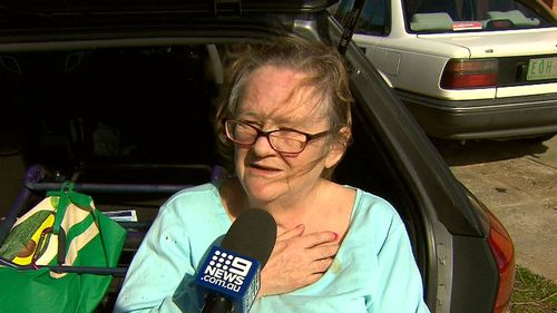Janet Matthews bravely fought off the thugs. Picture: 9NEWS