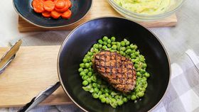Family Food Fight: The Tartaglia's Eye Fillet with Mashed Potato and Honeyed Carrots recipe