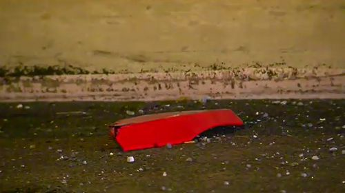A man aged 32, from Highett, has died after crashing his motorbike in the Burnley Tunnel in Melbourne. Picture: 9NEWS