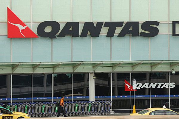 Qantas terminal