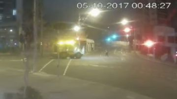 Man faces court over 'hit-run' involving rail crane