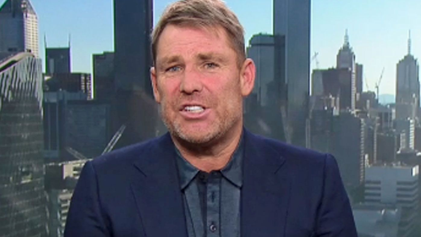 Shane Warne on Today