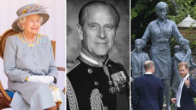 The defining photos of the royal family in 2021... so far