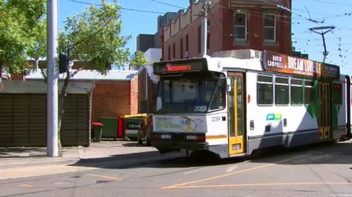 Three Yarra Trams staff have been stood down pending an independent investigation into the event. (9NEWS)