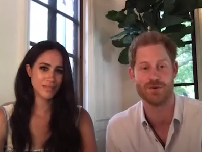 The Duke and Duchess of Sussex discuss online bullying and abuse.