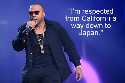 """Sorry Timbaland, but Japan isn't """"down"""" from California."""