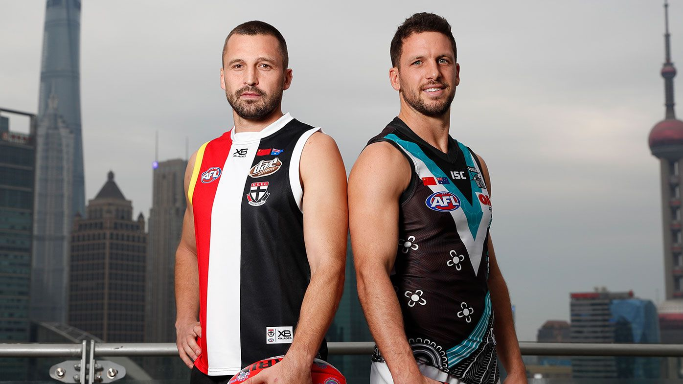 AFL to cancel shanghai game between Port Adelaide and St Kilda due to coronavirus