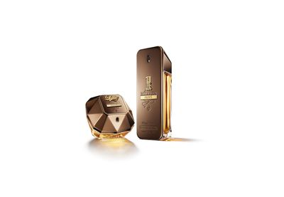 "<a href=""http://www.myer.com.au/shop/mystore/beauty/all-fragrance"" target=""_blank"">Paco Rabanne Lady Million Privee (80ml), $155.</a>"