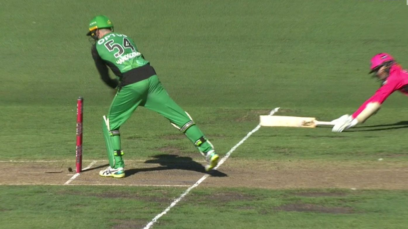 BBL: Glenn Maxwell heroics lift Melbourne Stars into finals as hapless Sixers' day summed up in Nathan Lyon run out