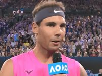 Rafa and Fed dig deep for bushfire relief