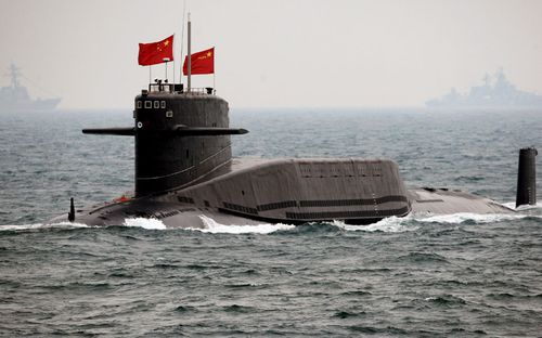 The massive radio antenna would enable Chinese submarines to communicate with their bases while submerged.