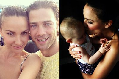 The cutest family ever!<br/><br/>In 2013, Rachael married former <I>Dancing with the Stars</I> partner Michael Miziner... with newborn baby Violet rounding off the Finch clan. <br/>
