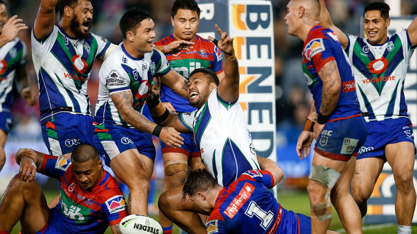 NRL: Warriors steal dramatic win over Newcastle Knights