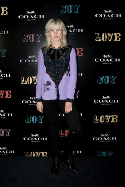 Alyse Hale at the Coach launch, Sydney.