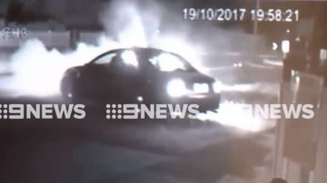 Officer injured after cop car crashes into stolen vehicle