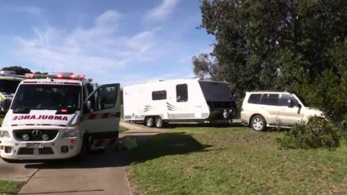Man in hospital after crashing car into tree in Lakes Entrance