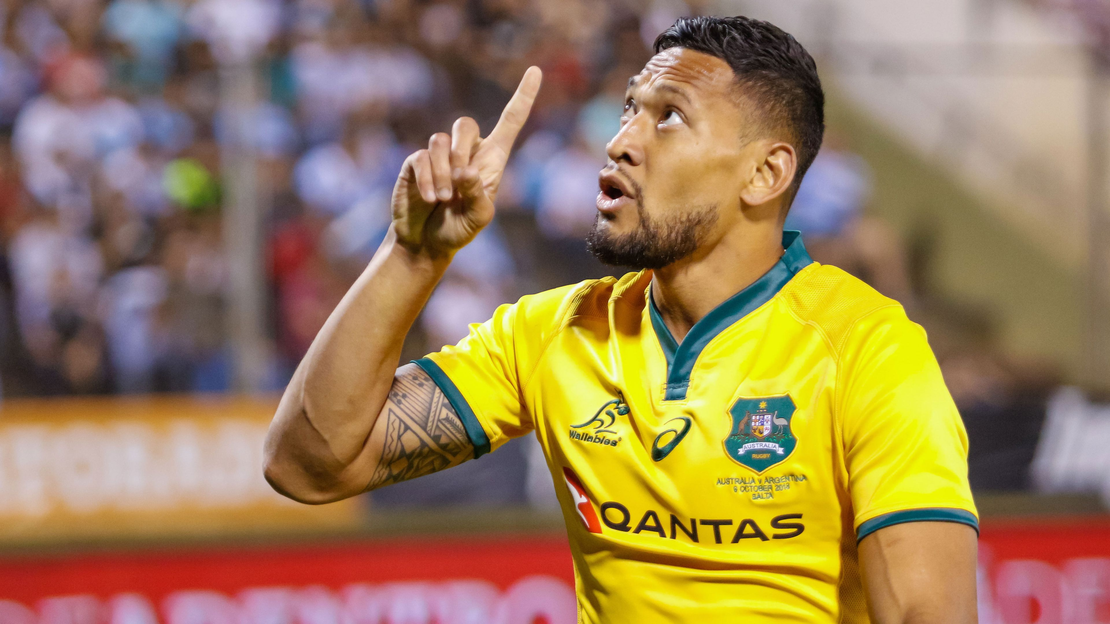 Folau says he has 'a lot of rugby left' despite sacking