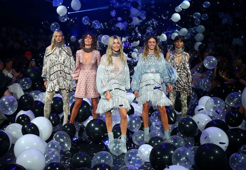 The department store launched their 2016 spring-summer collections yesterday evening. (GETTY)
