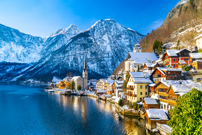 Hallstatt village that inspired the movie Frozen