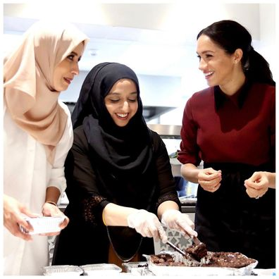 Unseen photo of Meghan Markle during secret charity visit revealed