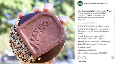 Maxibon doughnut is an epic food hybrid