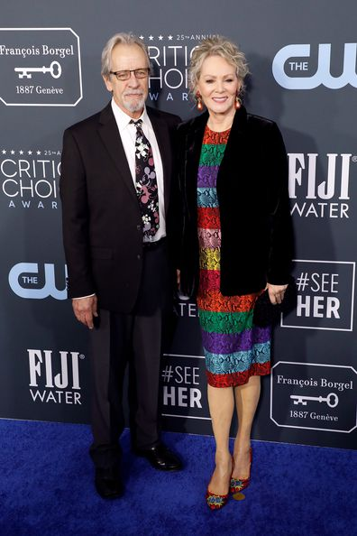 Richard Gilliland and Jean Smart met on the set of the TV show Designing Women.