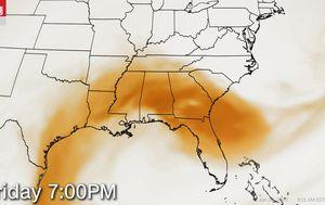 'Historic' Saharan dust cloud descends on southeast US