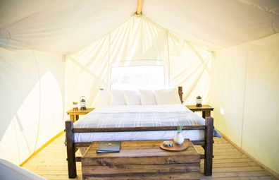 Review: Under Canvas Yellowstone glamping – with a side of