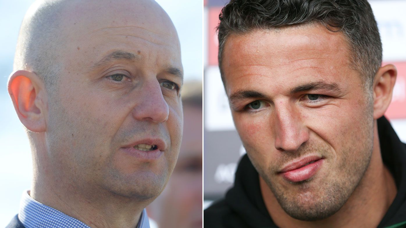 NRL: Souths Burgess cops $10,000 suspended fine for judiciary outburst