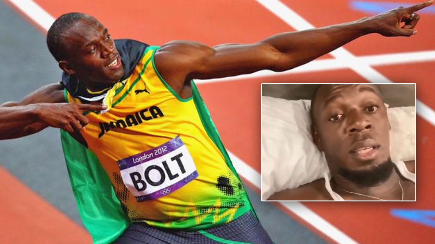 Usain Bolt is in quarantine after a COVID-19 scare
