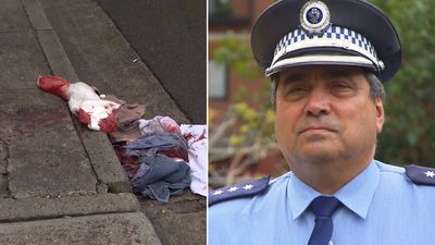 Man's body and face slashed in Sydney 'box-cutter' attack