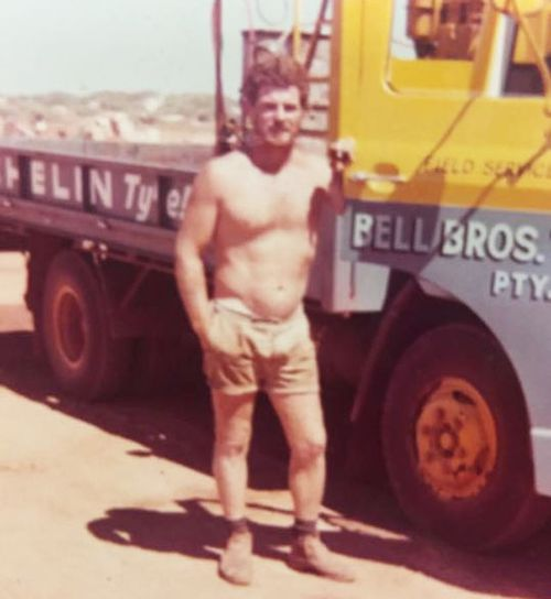 Alan Roberts worked as an electrician and on mining sites in WA.