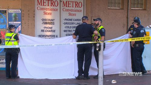 After the incident, detectives said up to 10 people were involved in the fight that led to Mr Hanley's death. (9NEWS)