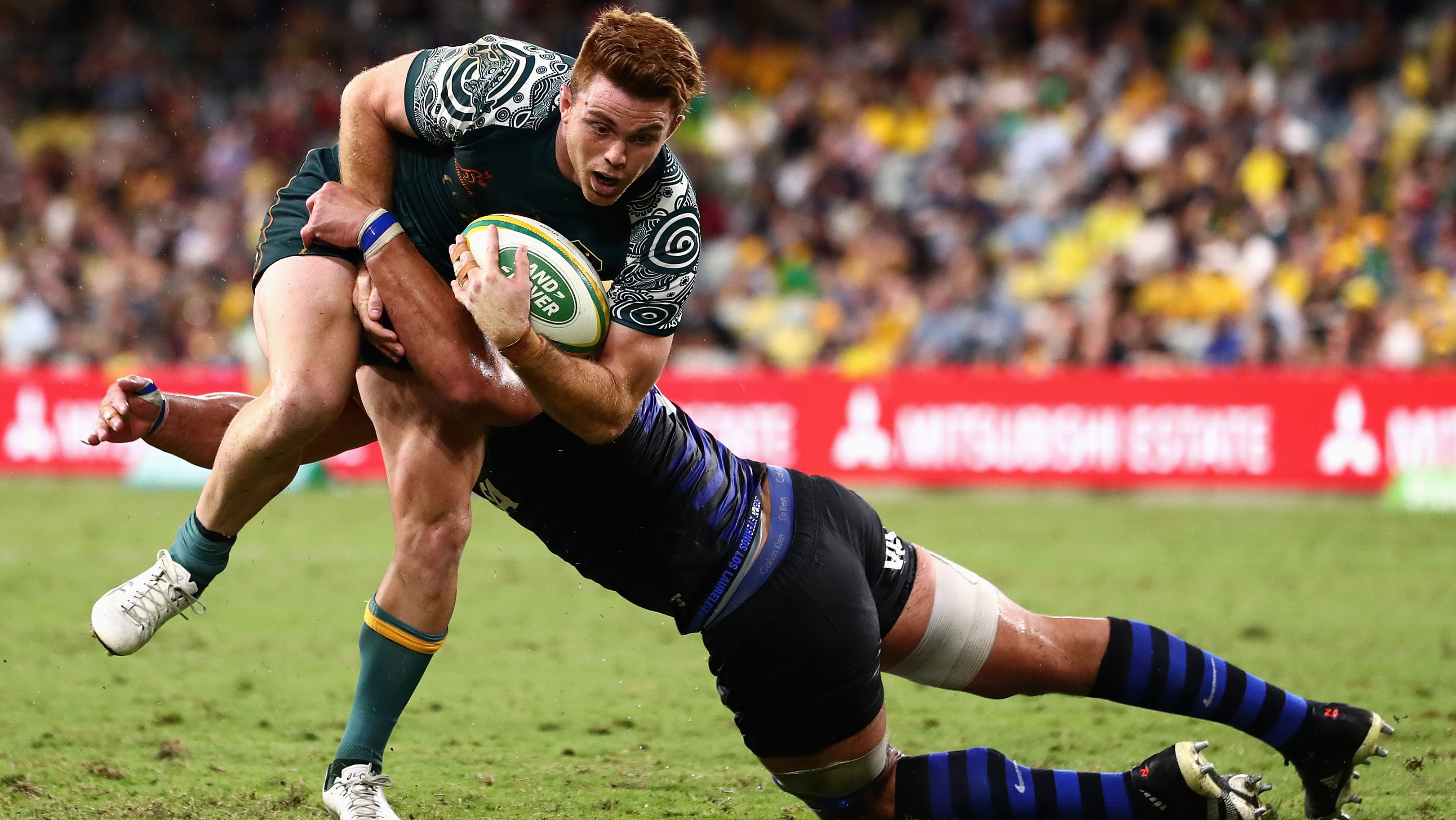 Australia's breakout rugby star delivers again