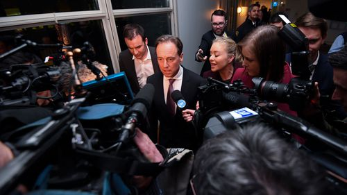 Health Minister Greg Hunt has reaffirmed his support of the Prime Minister.