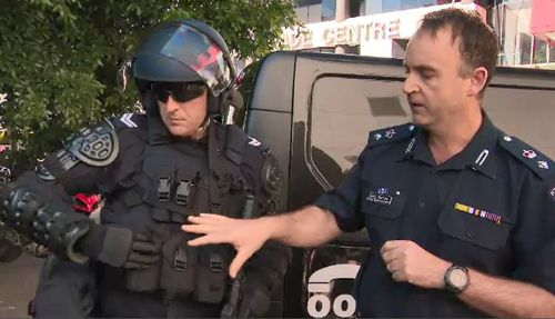 Victoria Police has revealed their new non-lethal weapons.