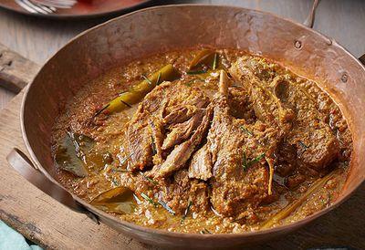 Adam Liaw's lamb chop rendang