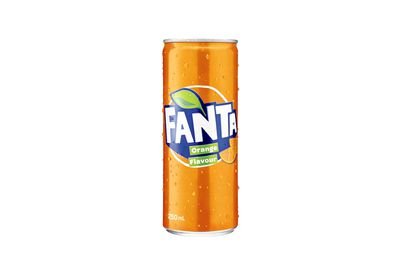 Fanta: 11.2g sugar per 100ml