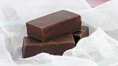 """Chocolate fudge slice <a href=""""http://kitchen.nine.com.au/2016/05/18/05/39/chocolate-fudge-slice"""" target=""""_top"""">recipe</a>"""