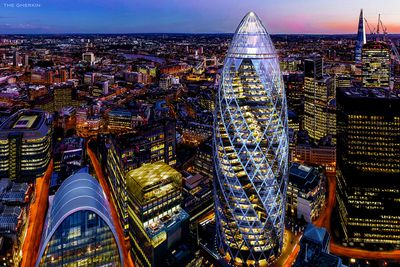 The Gherkin – 30 St Mary Axe, London