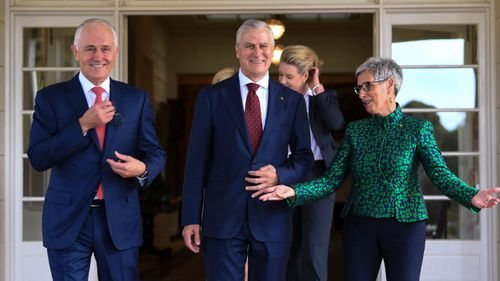 McCormack was named leader of the Nationals Party and deputy prime minister on Monday. (AAP)