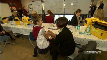 VIDEO: Free vaccination program for high school students