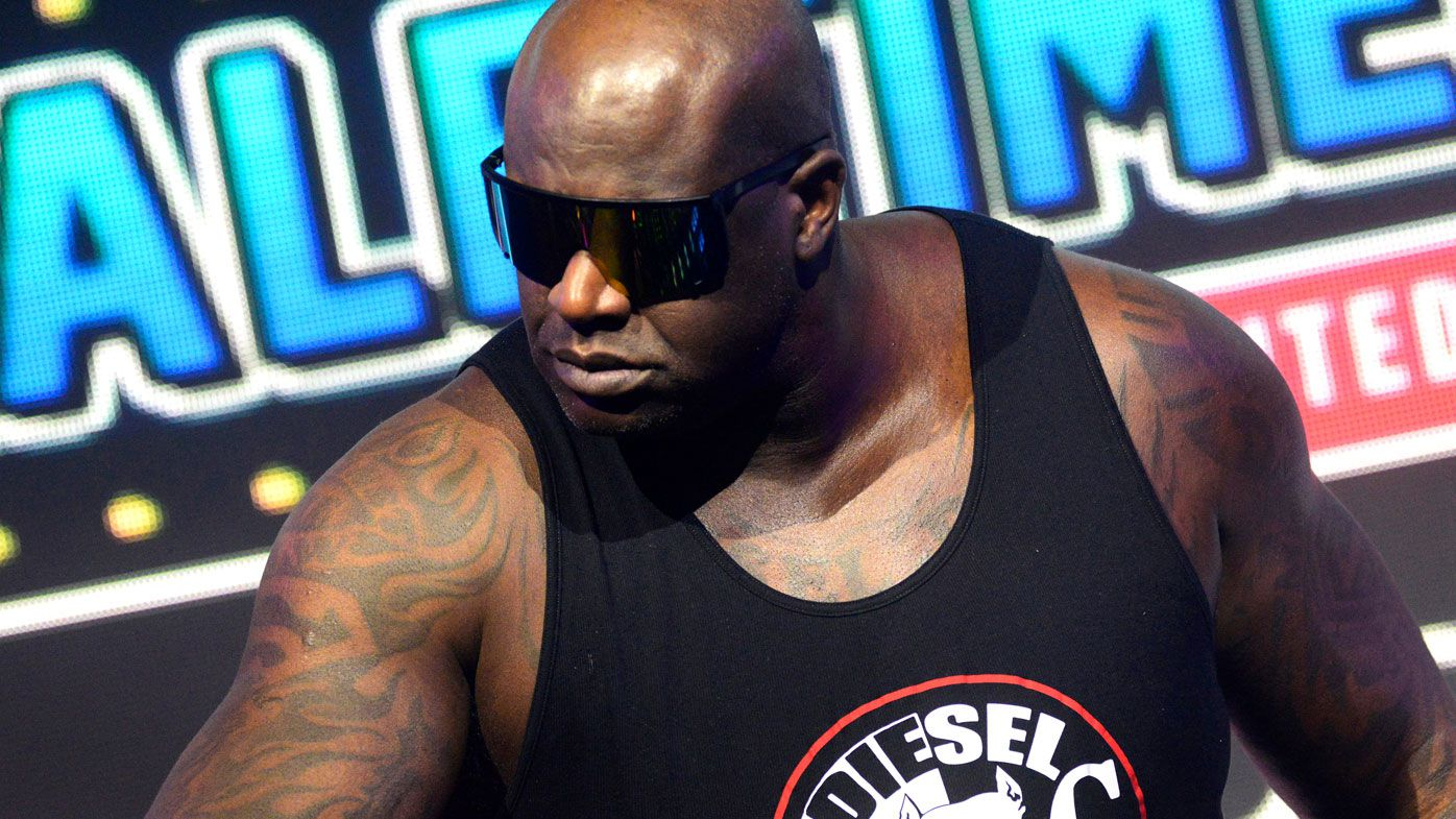 Shaquille O'Neal ready to rumble in tag match in All Elite Wrestling