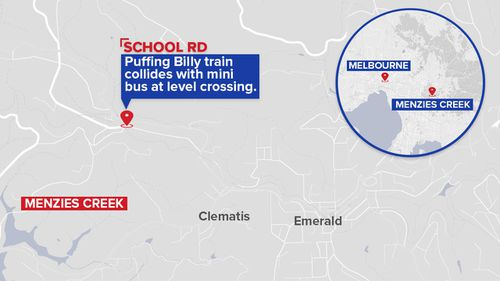 Emergency services were called to the scene just after midday yesterday. (9NEWS)