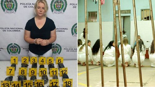 Cassi Sainsbury was jailed for six years aftre being caught trying to smuggle almost 6kg of cocaine out of Colombia.