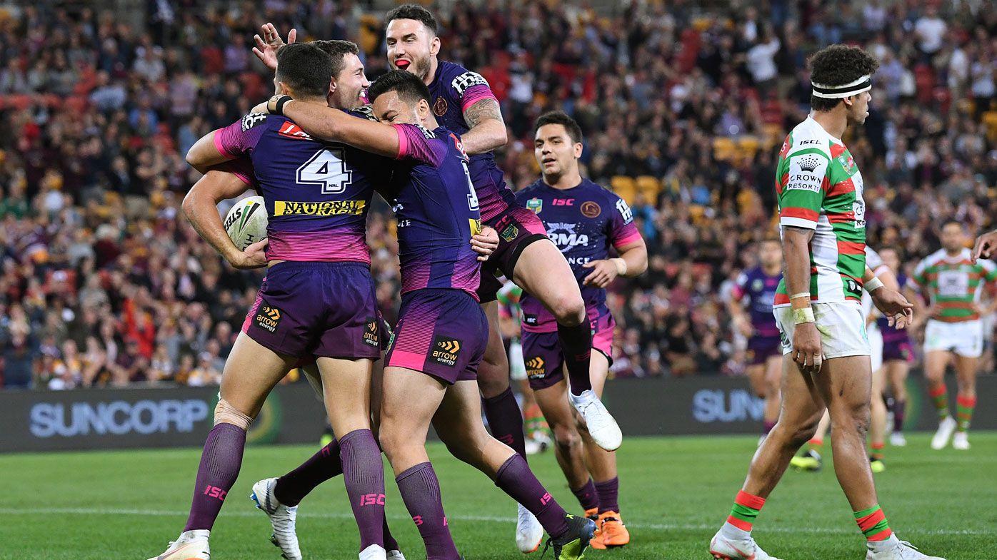 NRL: Brisbane Broncos hold off South Sydney Rabbitohs to shake off week of woe