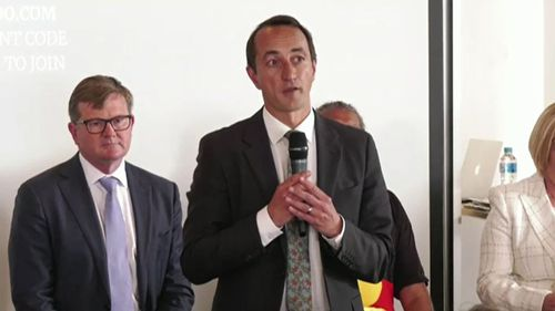Wentworth by-election candidate Dave Sharma has slapped down his Liberal Party colleagues over the axing of former Prime Minister Malcolm Turnbull.