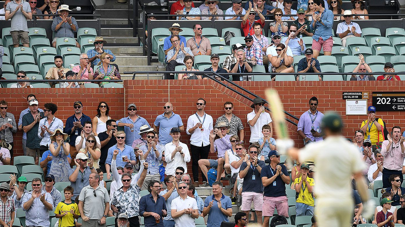 Spectator evicted from Adelaide Oval after relaying information to offshore bookmakers